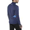 PEARL iZUMi Pursuit Wind Thermal Hardloopshirt lange mouwen Heren blauw